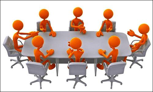 Leden Vergadering van vogelvereniging P.J.Helder